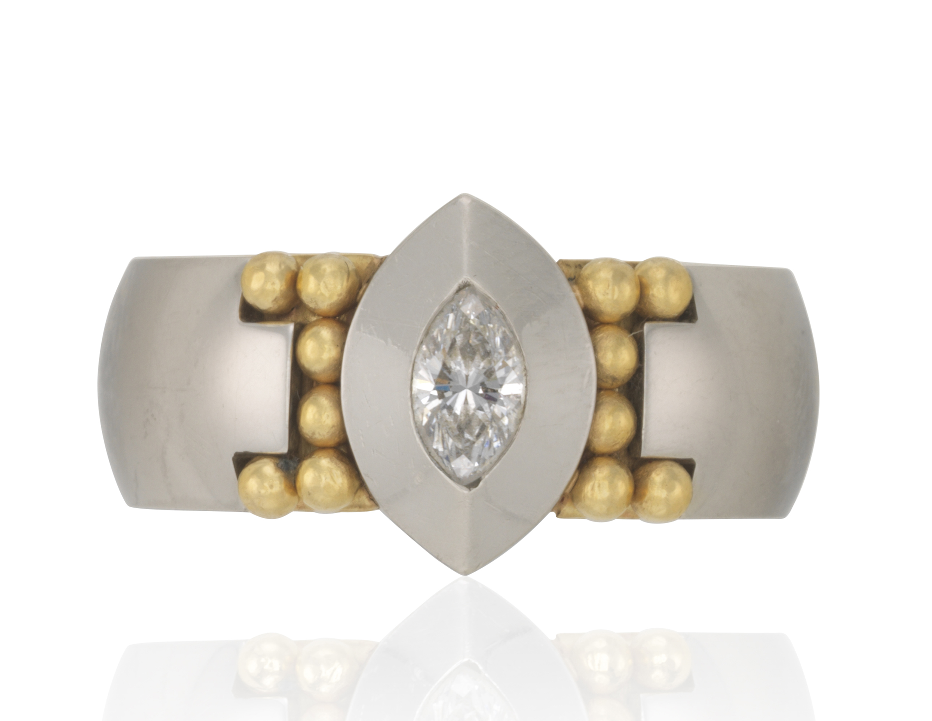 GEORG JENSEN DIAMOND RING