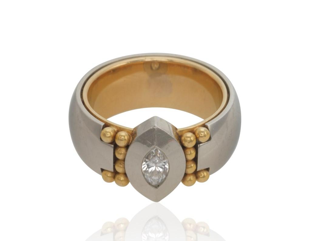 GEORG JENSEN DIAMOND RING