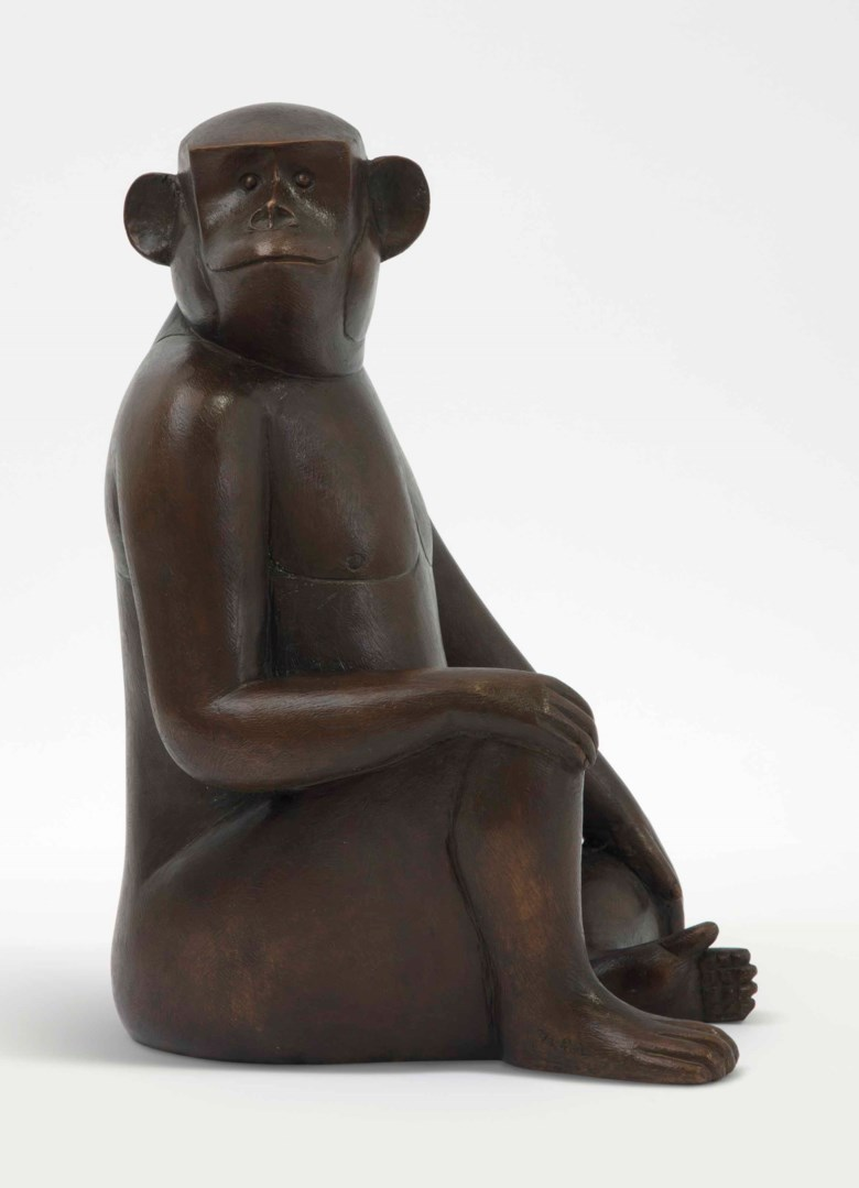 François-Xavier Lalanne (1927-2008), Singe Avise, circa 2005. 15¾  in (40  cm) high. Estimate $100,000-150,000. Offered in Design on 20 June 2018 at Christie's in New York