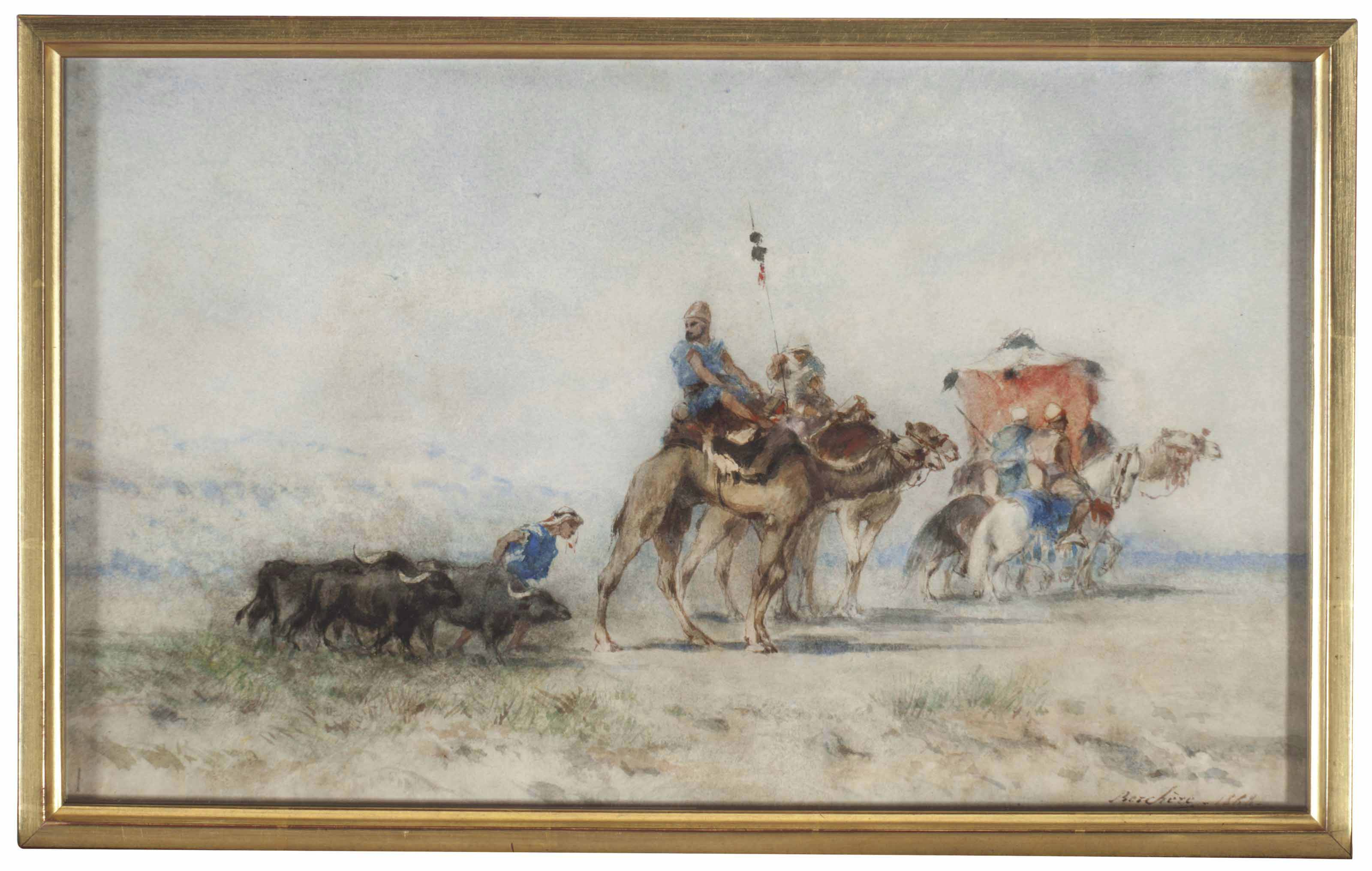 Narcisse Berchère (French, 181