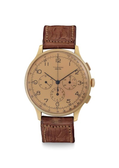 Zenith. A Fine and Large 18k P