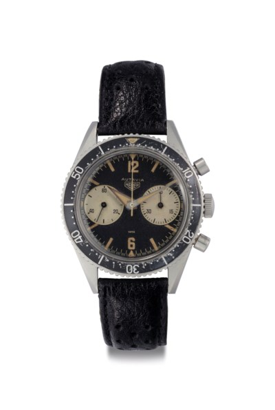Heuer. A Very Fine and Rare St