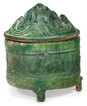 Collecting guide 10 tips on chinese ceramics christies a green glazed pottery cylindrical hill jar and a reviewsmspy