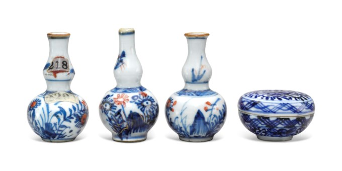 Collecting guide 10 tips on chinese ceramics christies four miniature blue and white porcelain vessels reviewsmspy