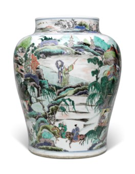 Collecting guide 10 tips on chinese ceramics christies a large famille verte baluster jar reviewsmspy