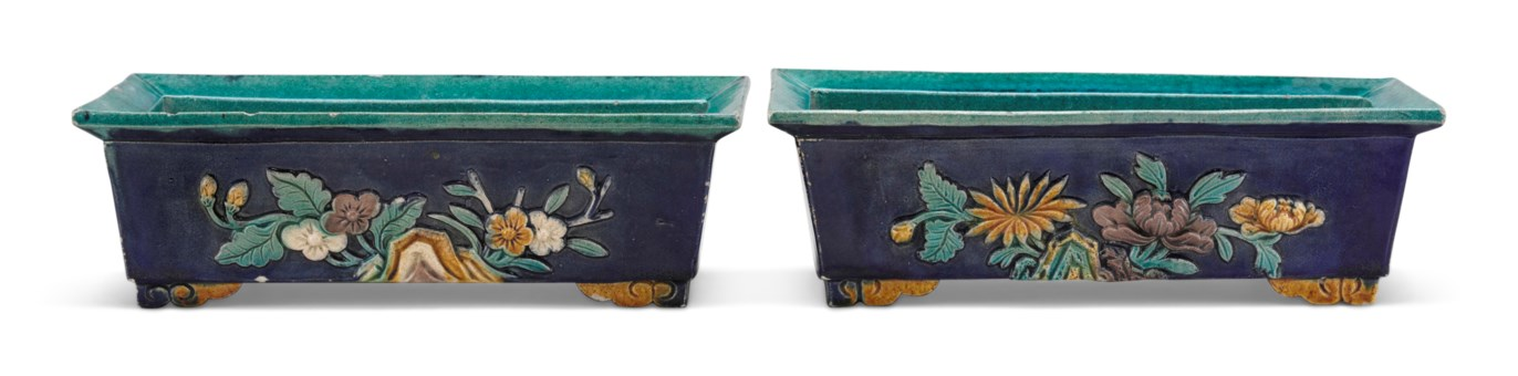 Reign marks on chinese ceramics an expert guide christies a pair of polychrome glazed rectangular ming dynasty reviewsmspy