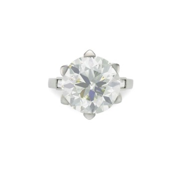 artcarved diamond in white april gold setting