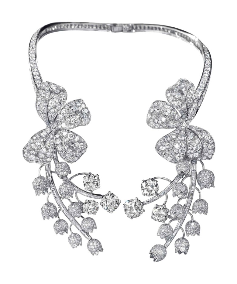 An exquisite diamond necklace, by Paul Flato. Estimate $200,000-300,000. This lot is offered in Magnificent Jewels on 17 April at Christie's in New York