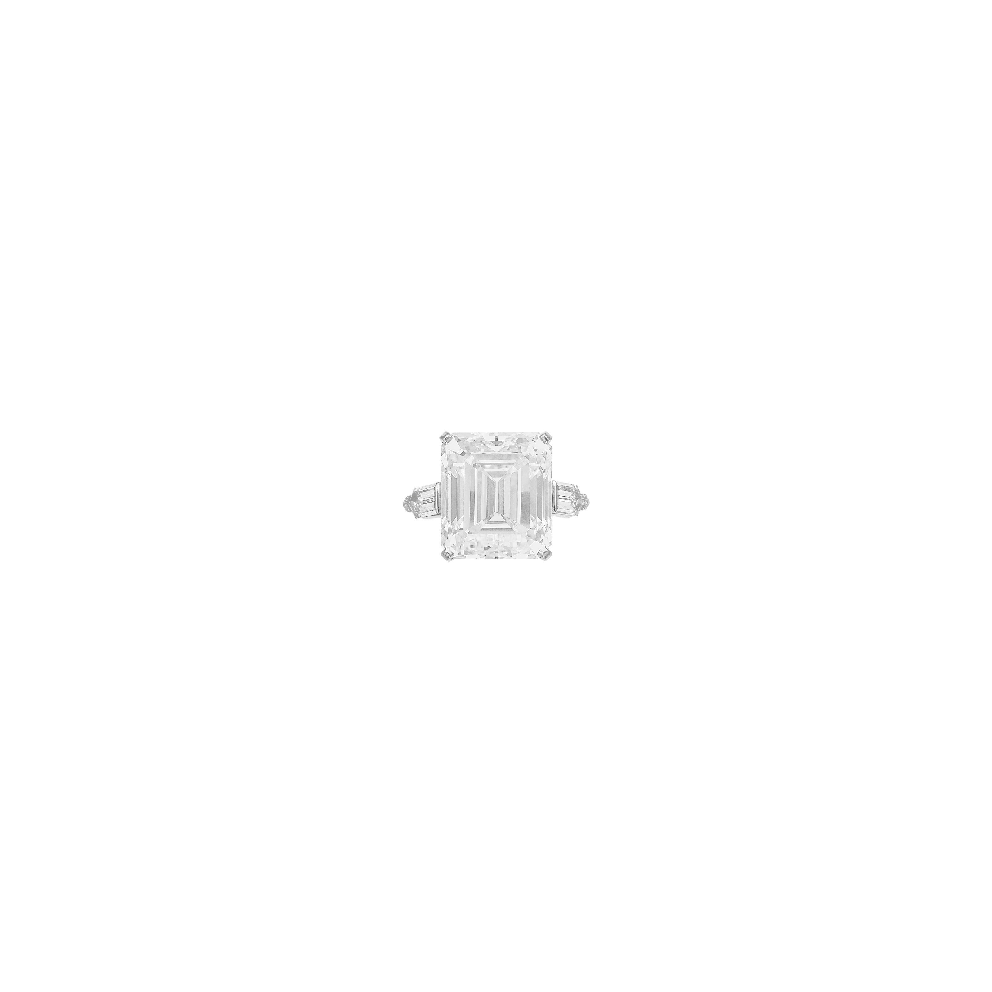 DIAMOND RING, CARVIN FRENCH