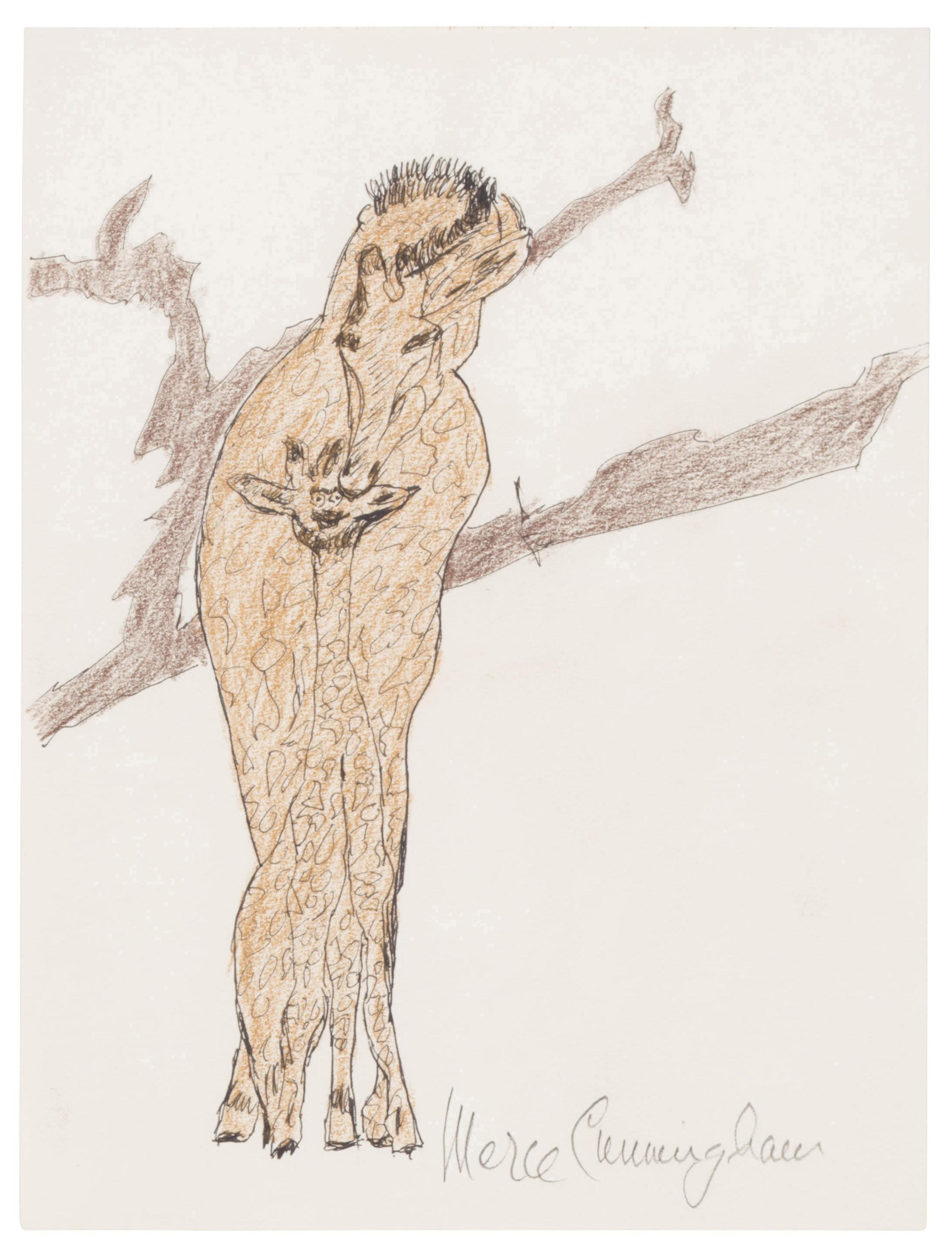MERCE CUNNINGHAM (1919-2009)