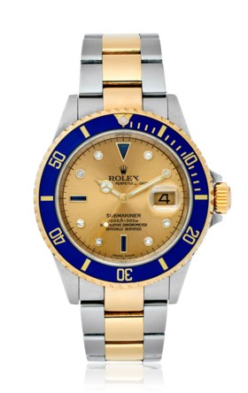 ROLEX, TWO-TONE SUBMARINER