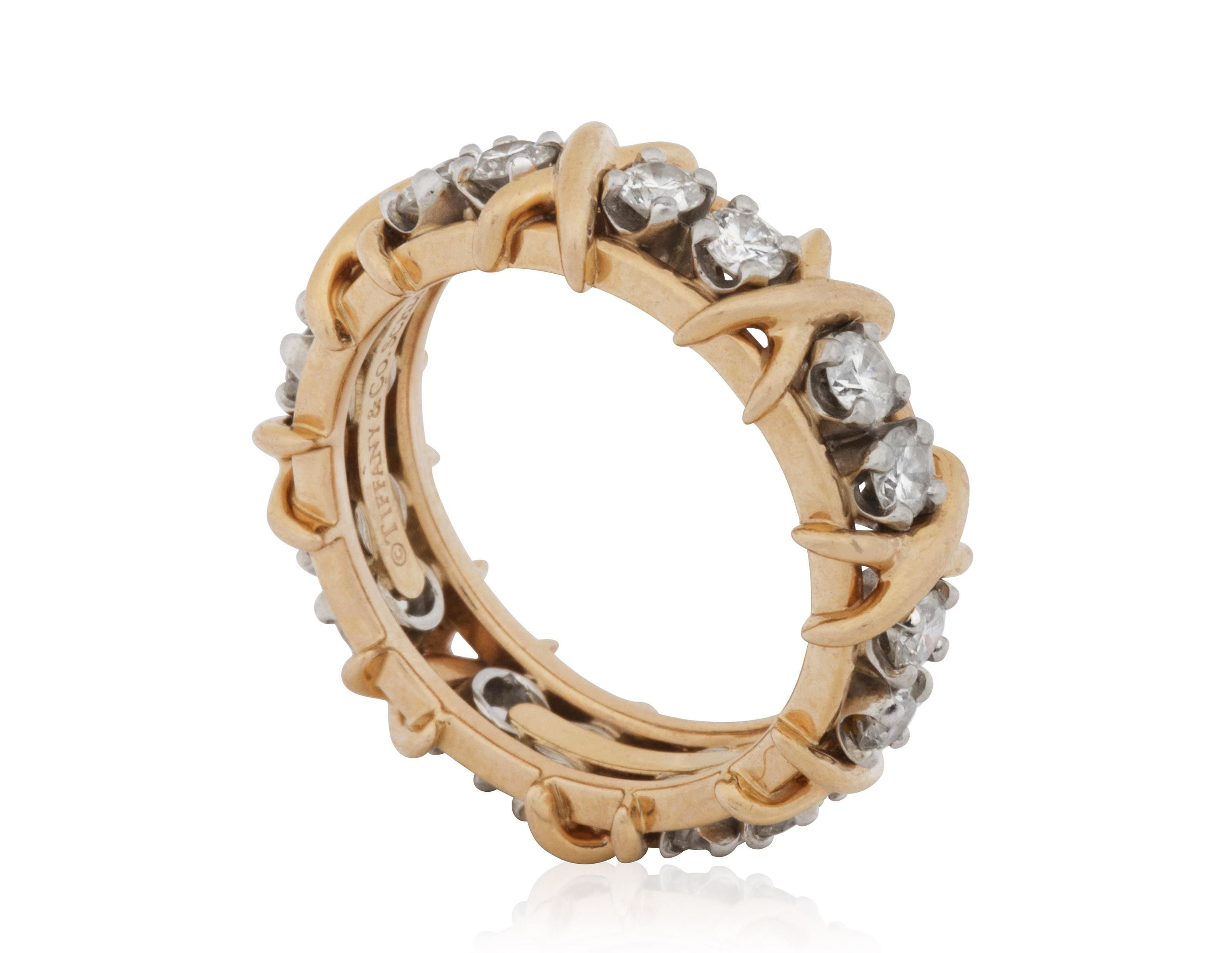2bdc67c5c TIFFANY & CO. SCHLUMBERGER 'SIXTEEN STONE' DIAMOND RING, | Christie's