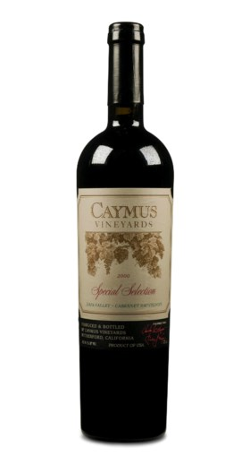 Caymus, Special Selection, Cabernet Sauvignon 1999 and 2000