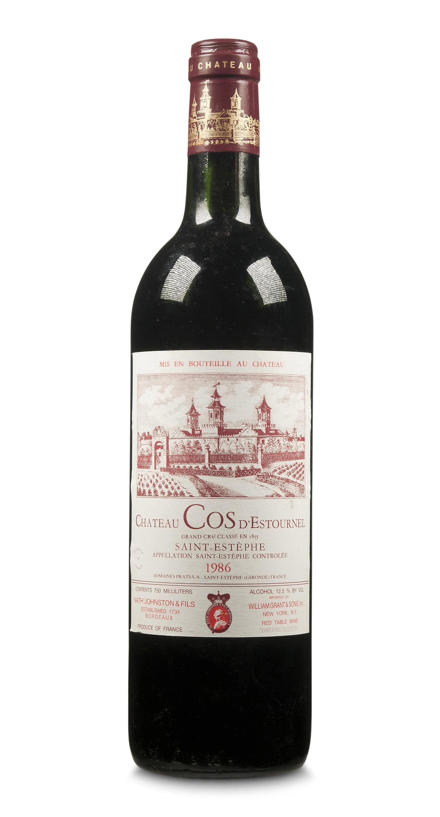 Mixed Red Bordeaux 1986