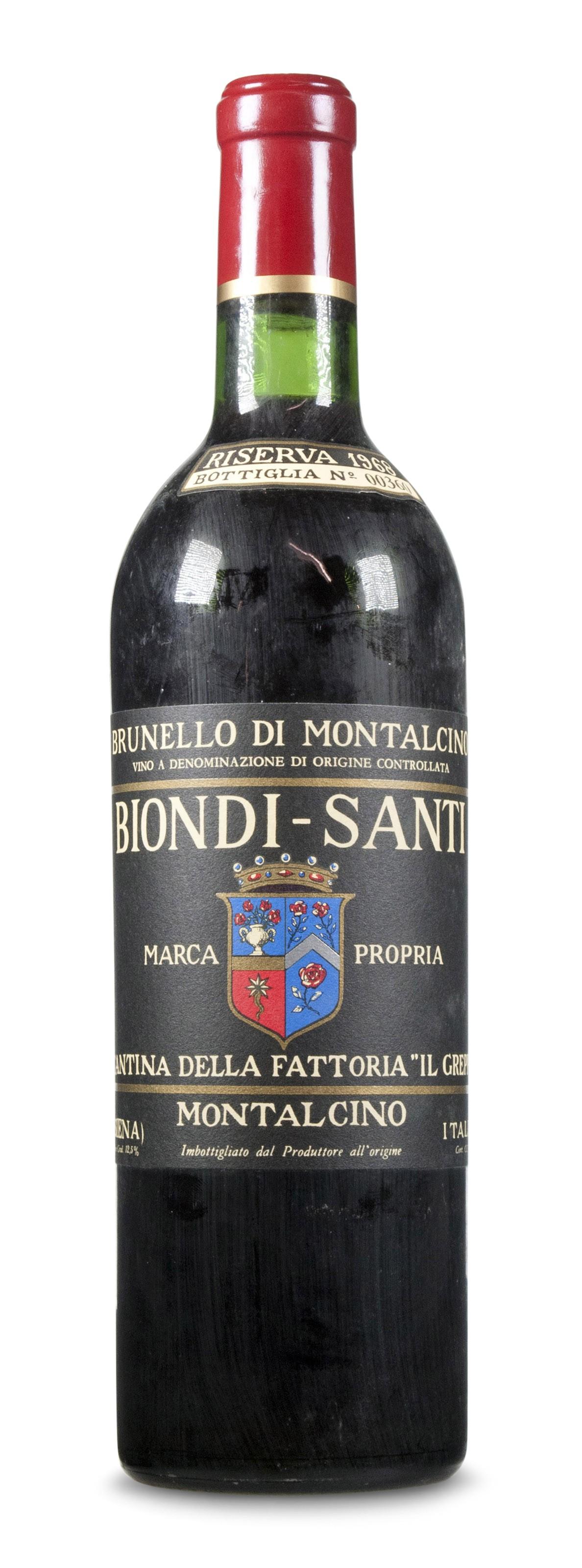 Biondi Santi, Brunello di Montalcino Riserva 1968
