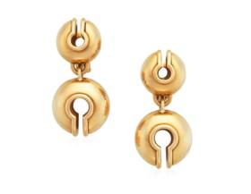 MARINA B 'CAMPANELLI' GOLD EARRINGS