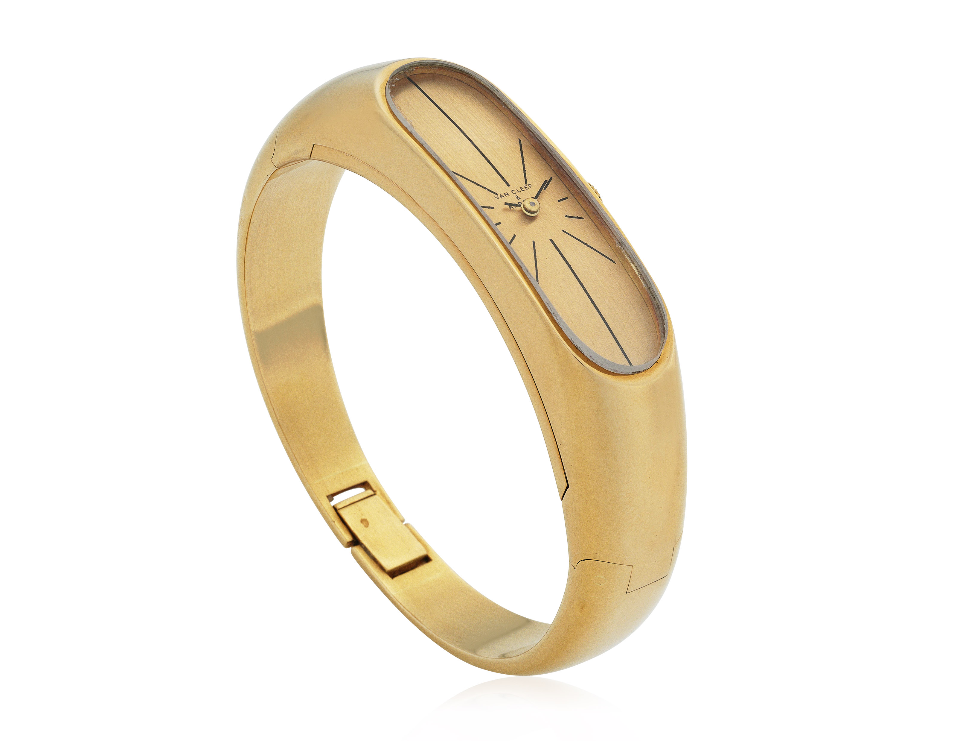 VAN CLEEF & ARPELS GOLD BRACEL