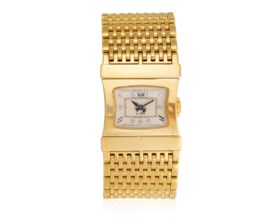 BEDAT & CO GOLD AND DIAMOND WATCH