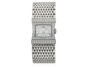 BEDAT & CO DIAMOND AND GOLD WATCH