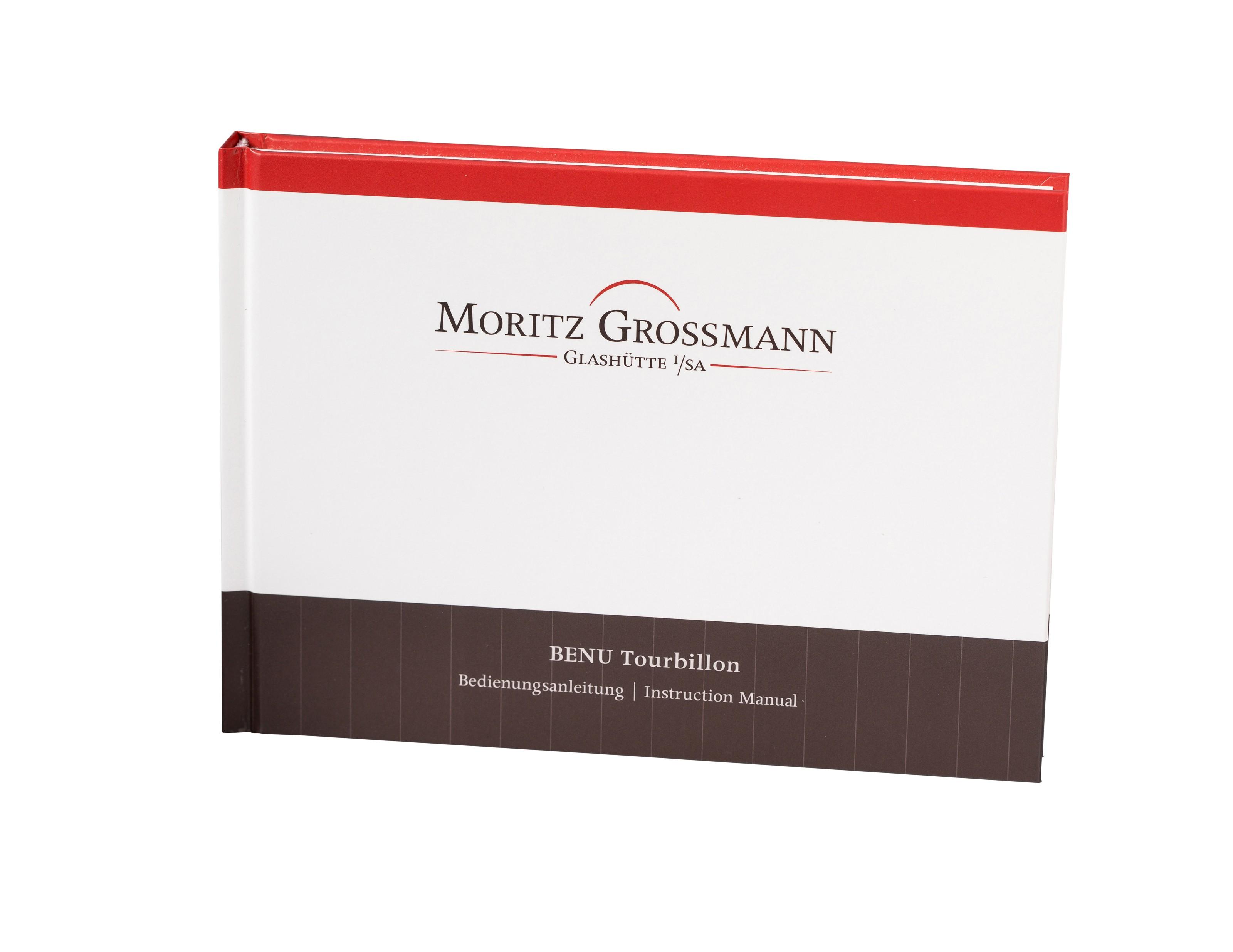 MORITZ GROSSMANN, BENU TOURBILLON ORANGE TITANIUM, MG-002066