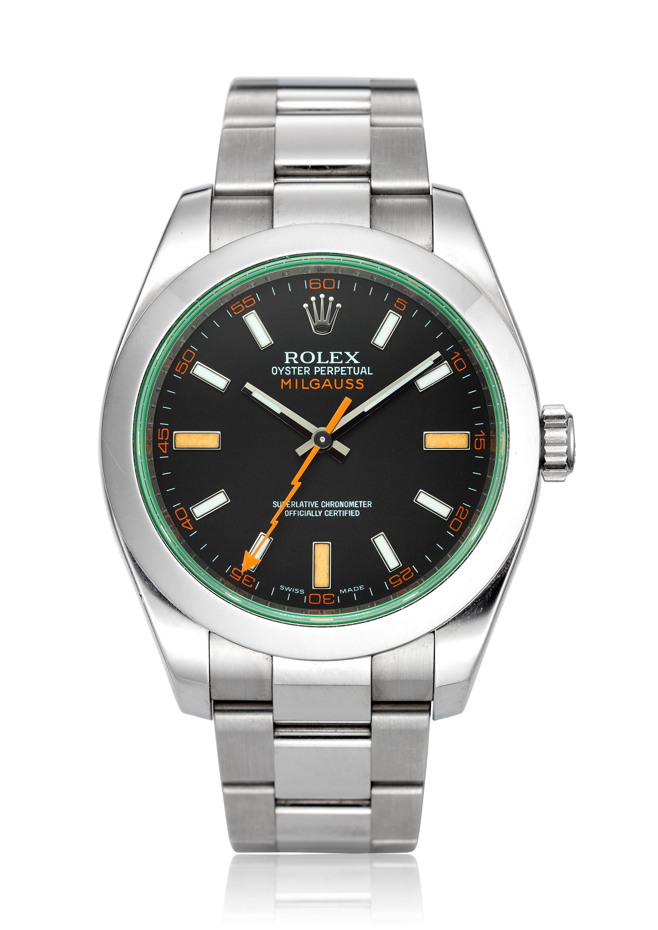 ROLEX, MILGAUSS, REF. 116400 V