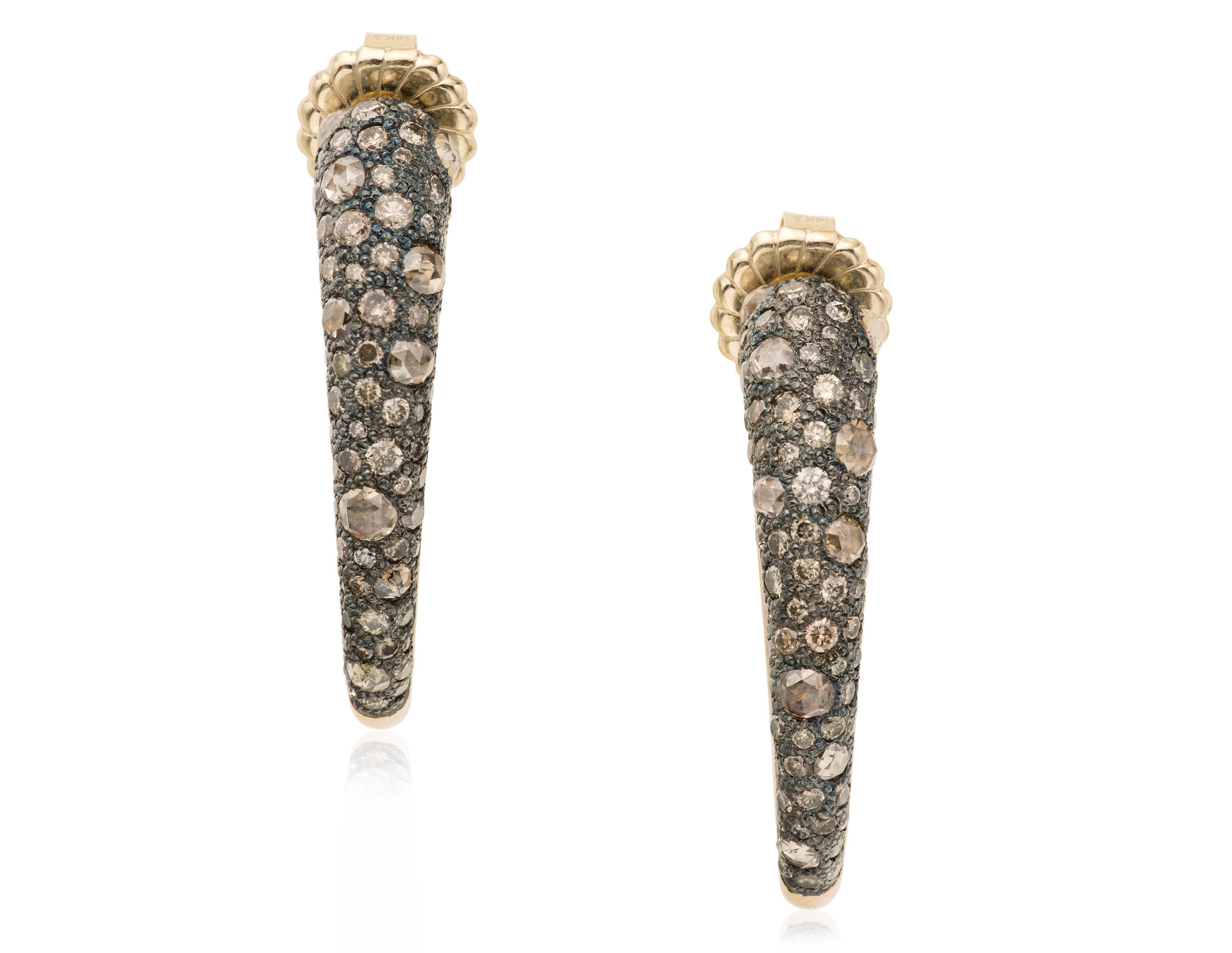 POMELLATO COLORED DIAMOND EARR