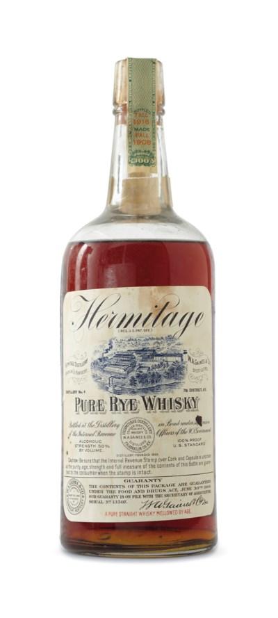 Hermitage Pure Rye Whiskey, WA