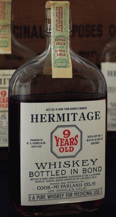 Hermitage Whiskey Bottled in B