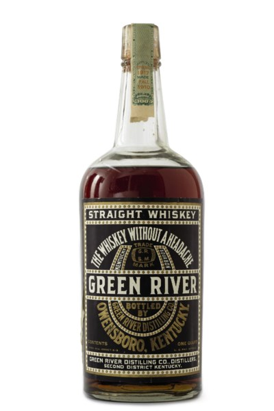 Green River Straight Whiskey 1