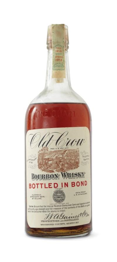 Old Crow Bourbon 1912 , 1912