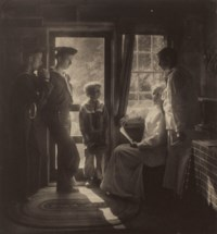 Sunshine in the House (Clarence H. White and family), 1913