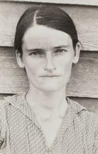 Allie Mae Burroughs, Hale County, Alabama, 1936
