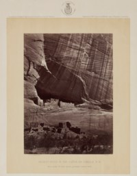 Ancient Ruins in the Cañon de Chelle, New Mexico, 1873