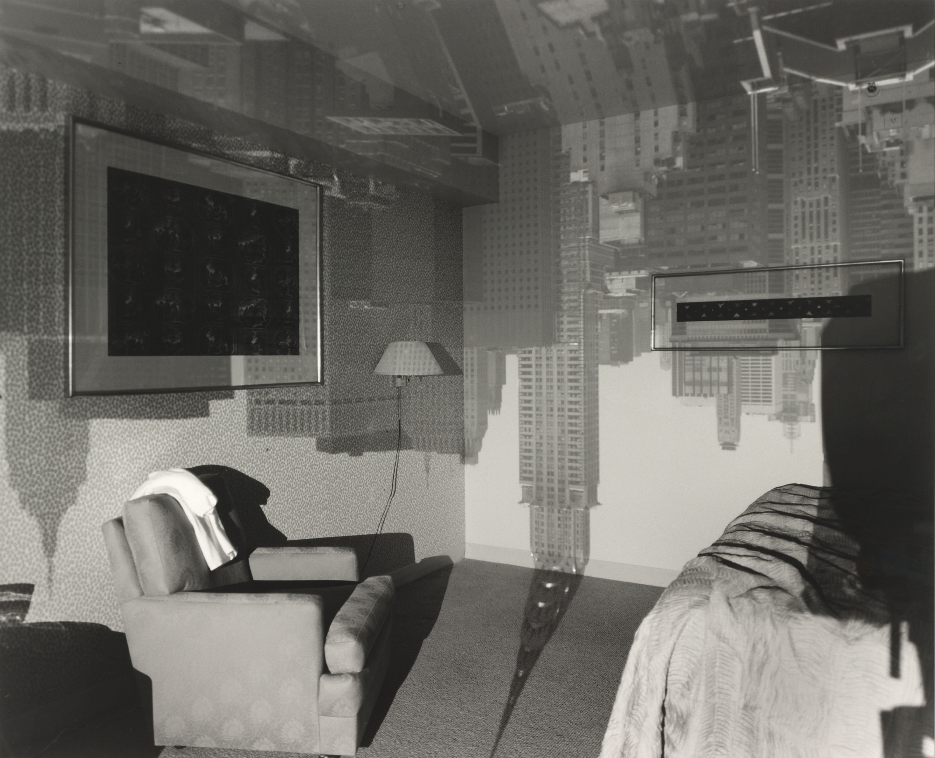 Camera Obscura Image of Chrysler Building in Hotel Room, 1999