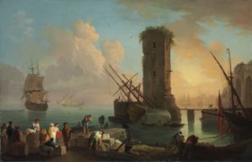 Circle of Claude Joseph Vernet (Paris 1714-1789)
