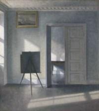 Interior with an Easel, Bredgade 25