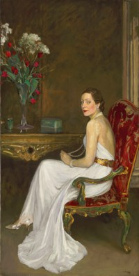 The Lady in White, Viscountess Wimborne