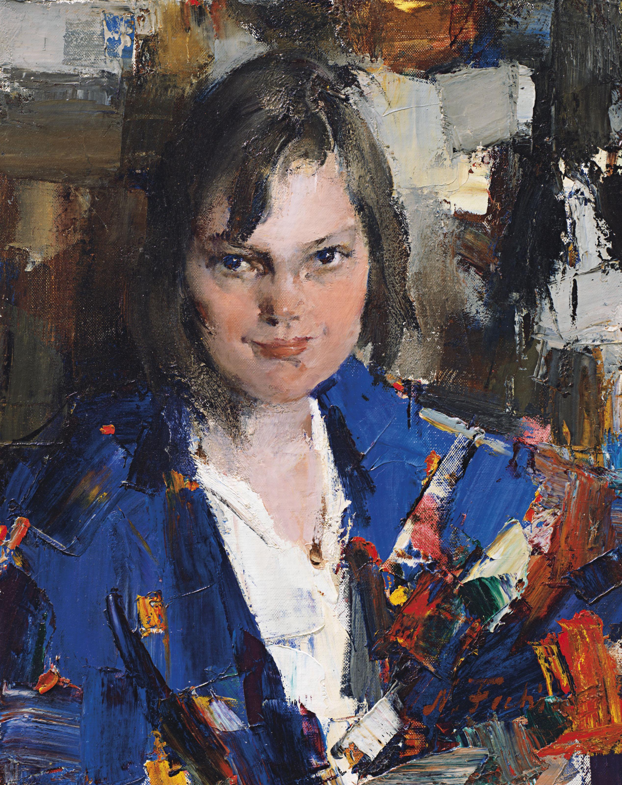 Portrait of Muriel Williams