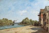 Pont sur l'Oise à l'Isle Adam