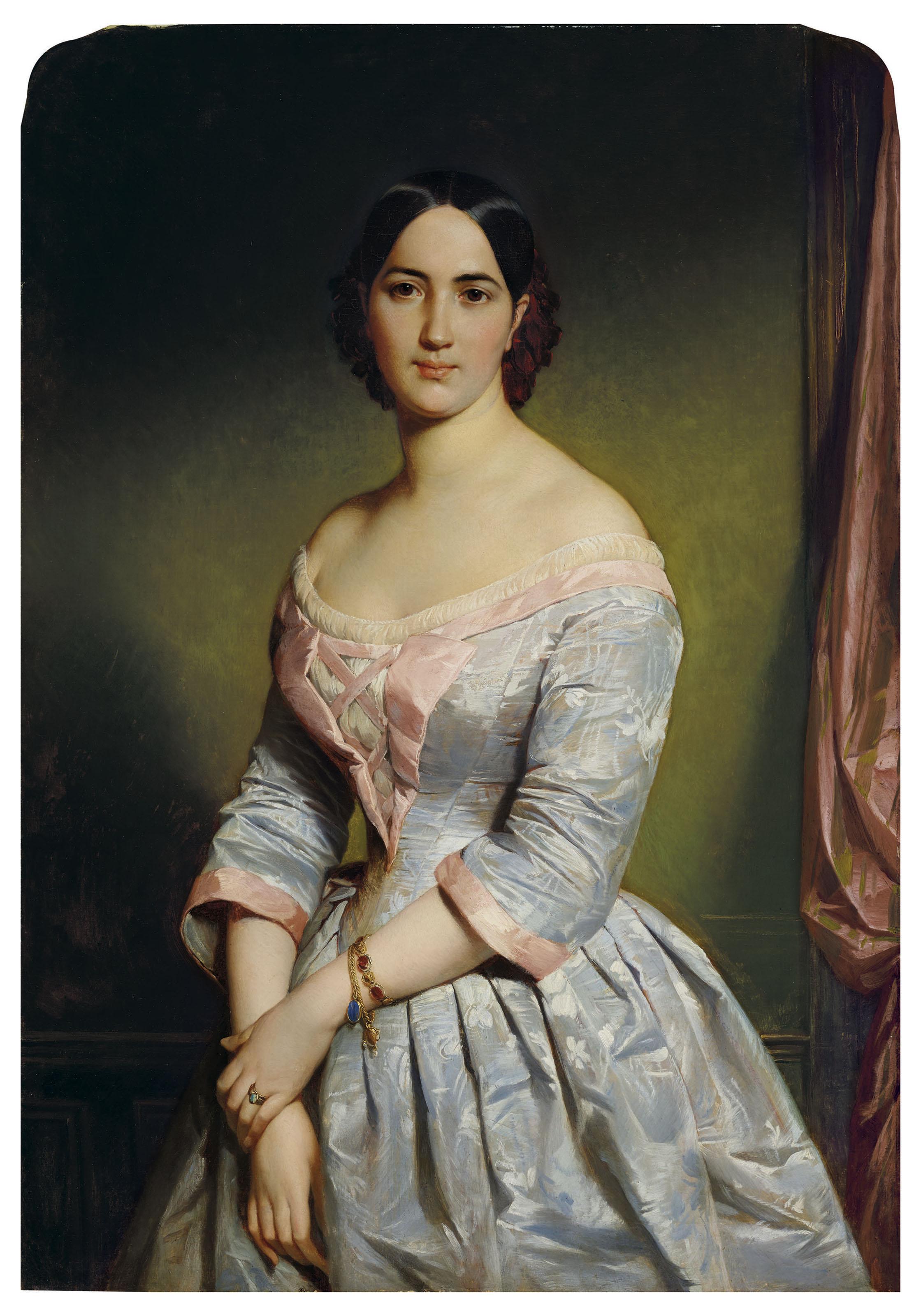 Édouard-Louis Dubufe (French, 1820-1883)