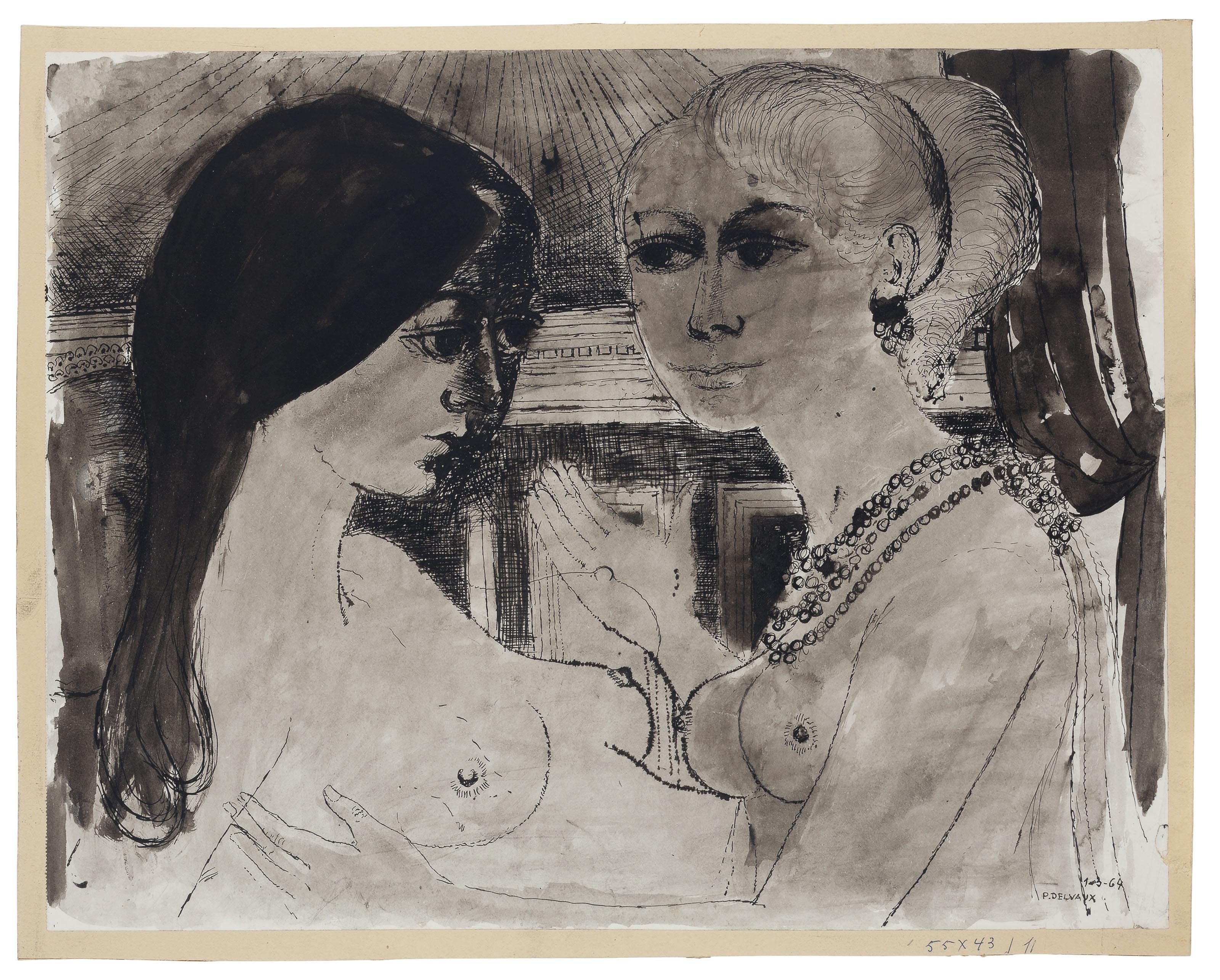 Paul Delvaux (Belgian, 1897-19