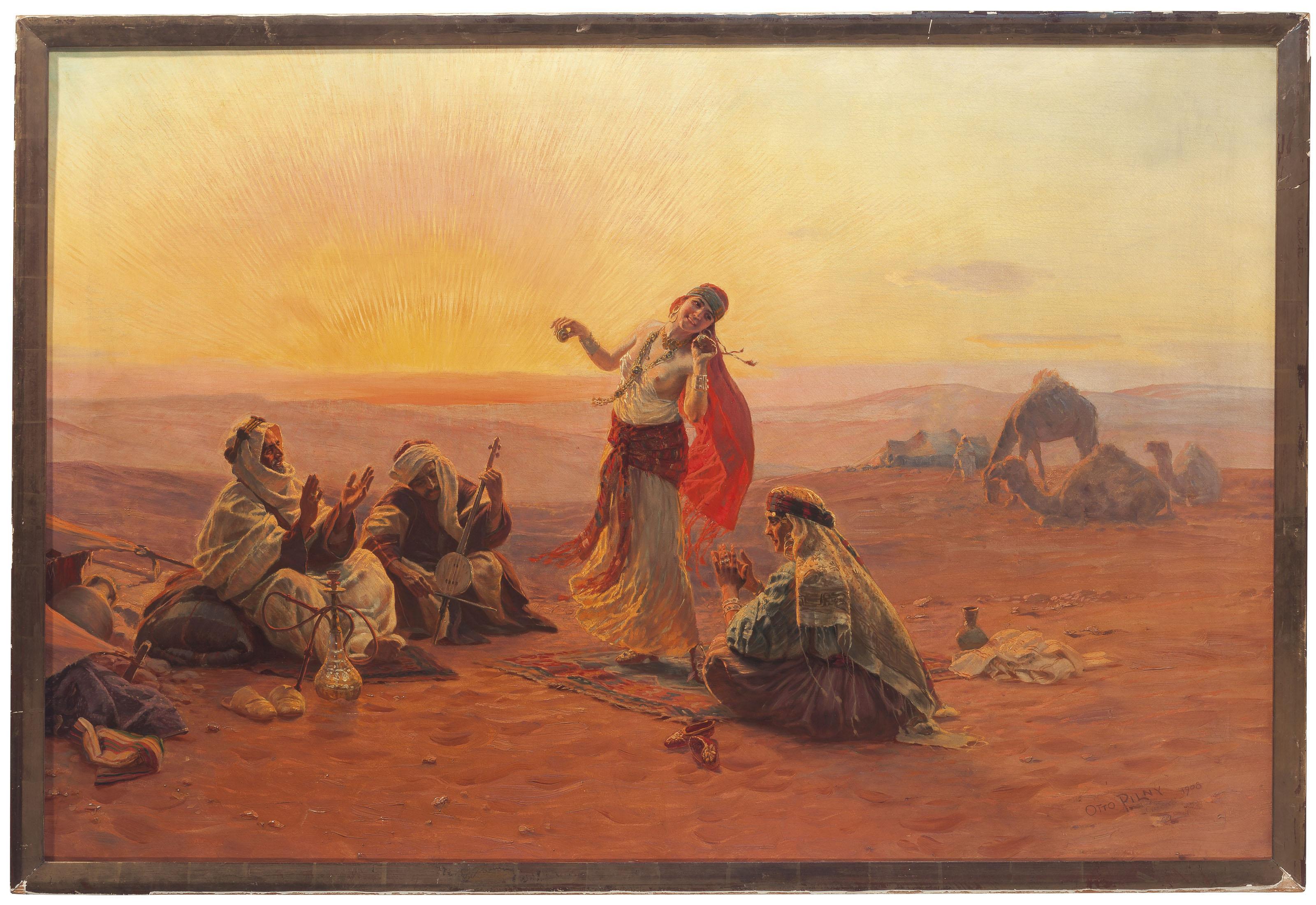 The desert dance