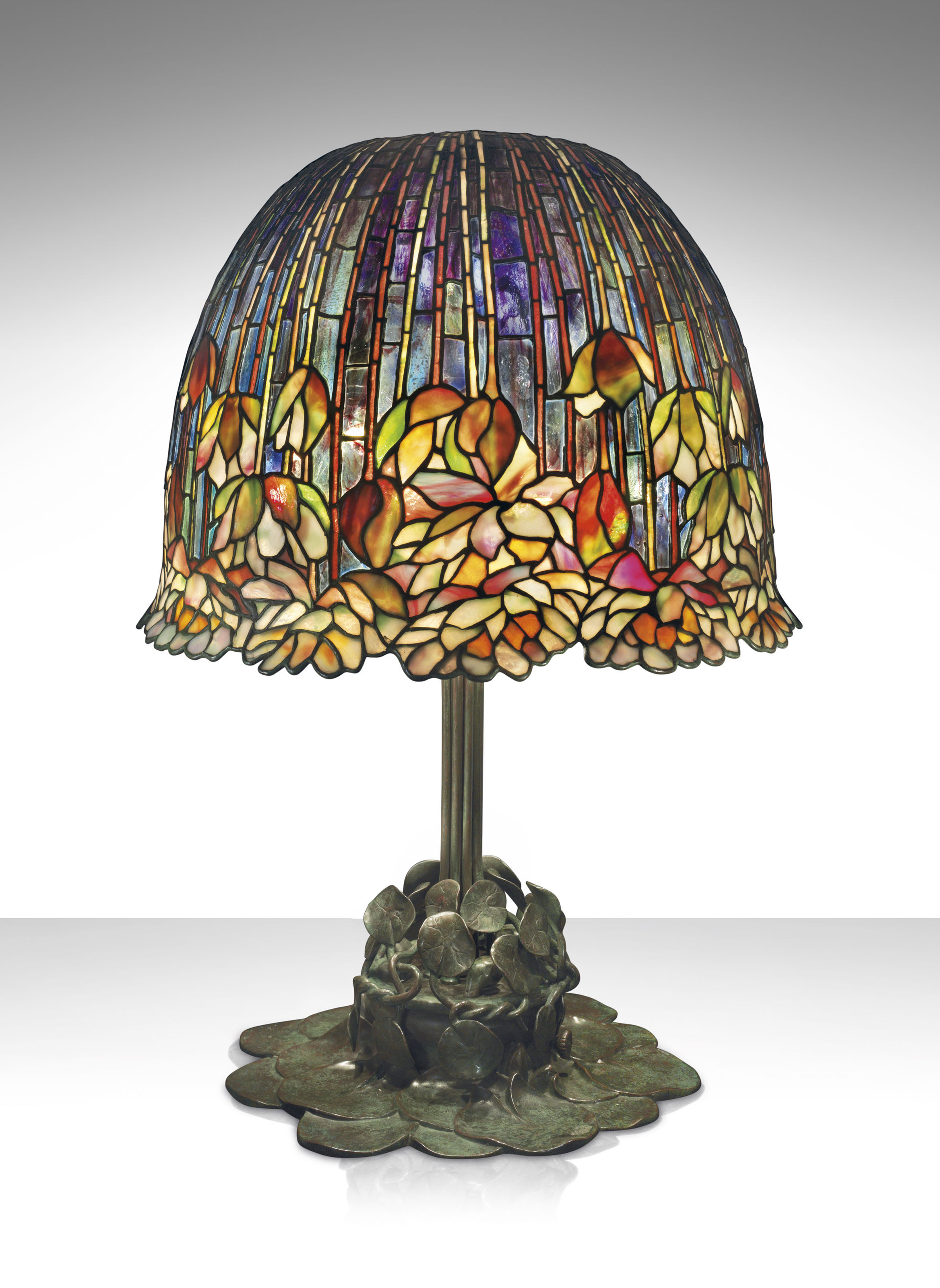 Tiffany Studios A Rare And Important Pond Lily Table