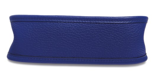 A BLEU ÉLECTRIQUE CLÉMENCE LEATHER ÉVELYNE TPM WITH PALLADIUM HARDWARE