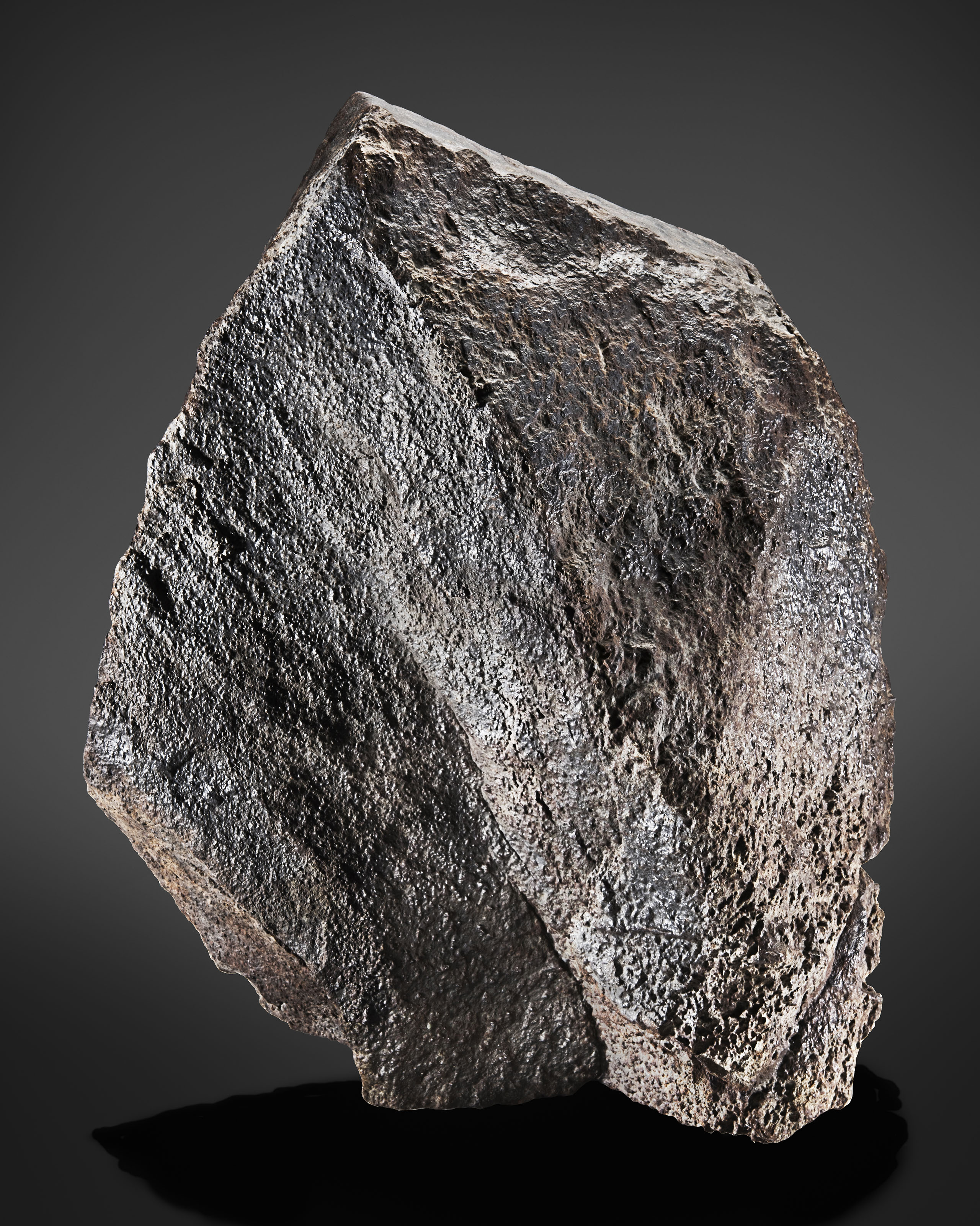 LARGE DECORATIVE STONE METEORITE NWA 11584