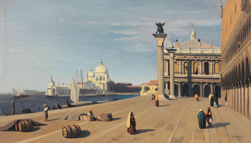 Venise, vue du Quai des Esclav
