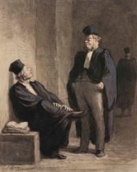 Conversations d'avocats (Deux avocats)