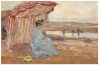 Deauville, Juliette sous la tente