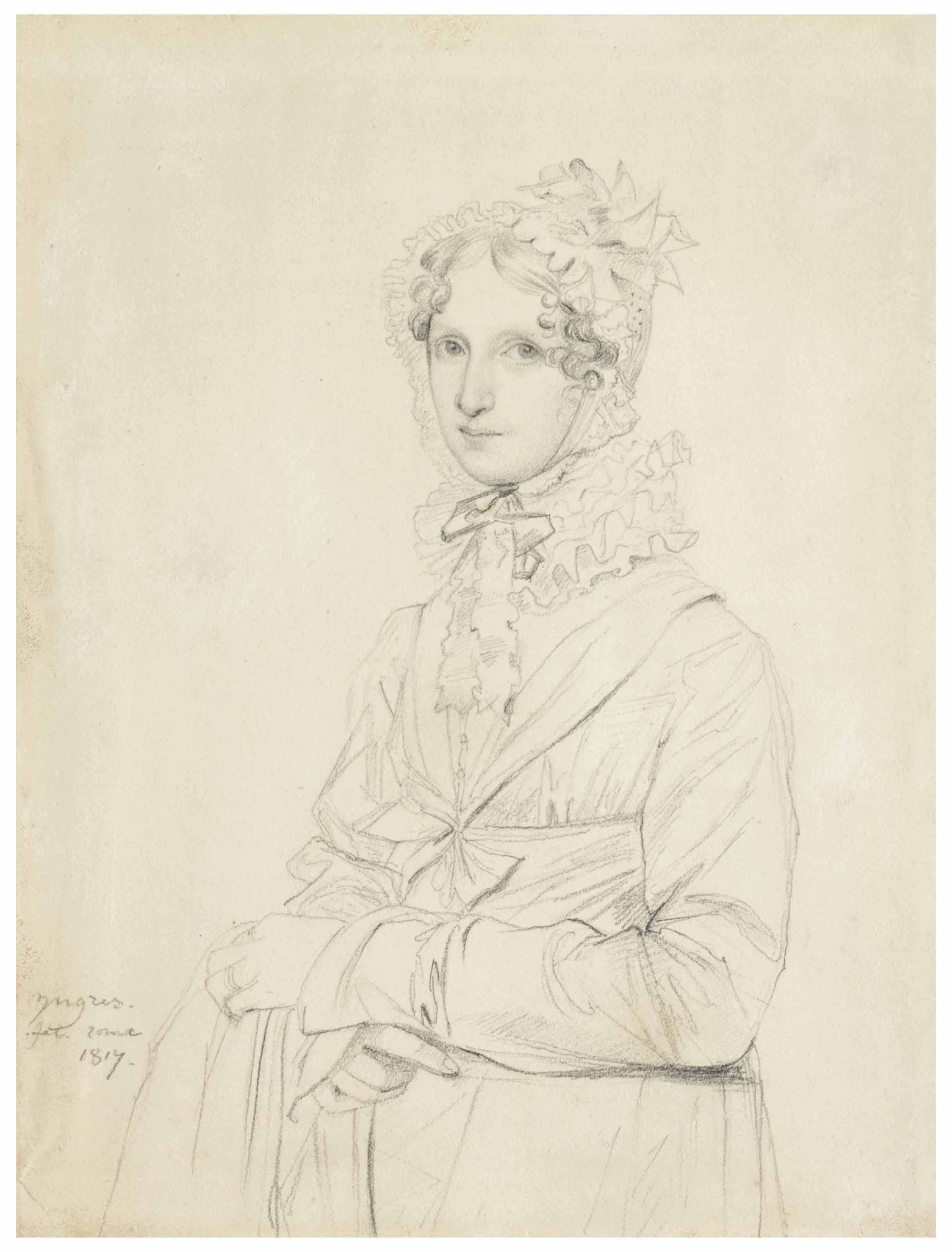 Jean-Auguste-Dominique Ingres (1780-1867)