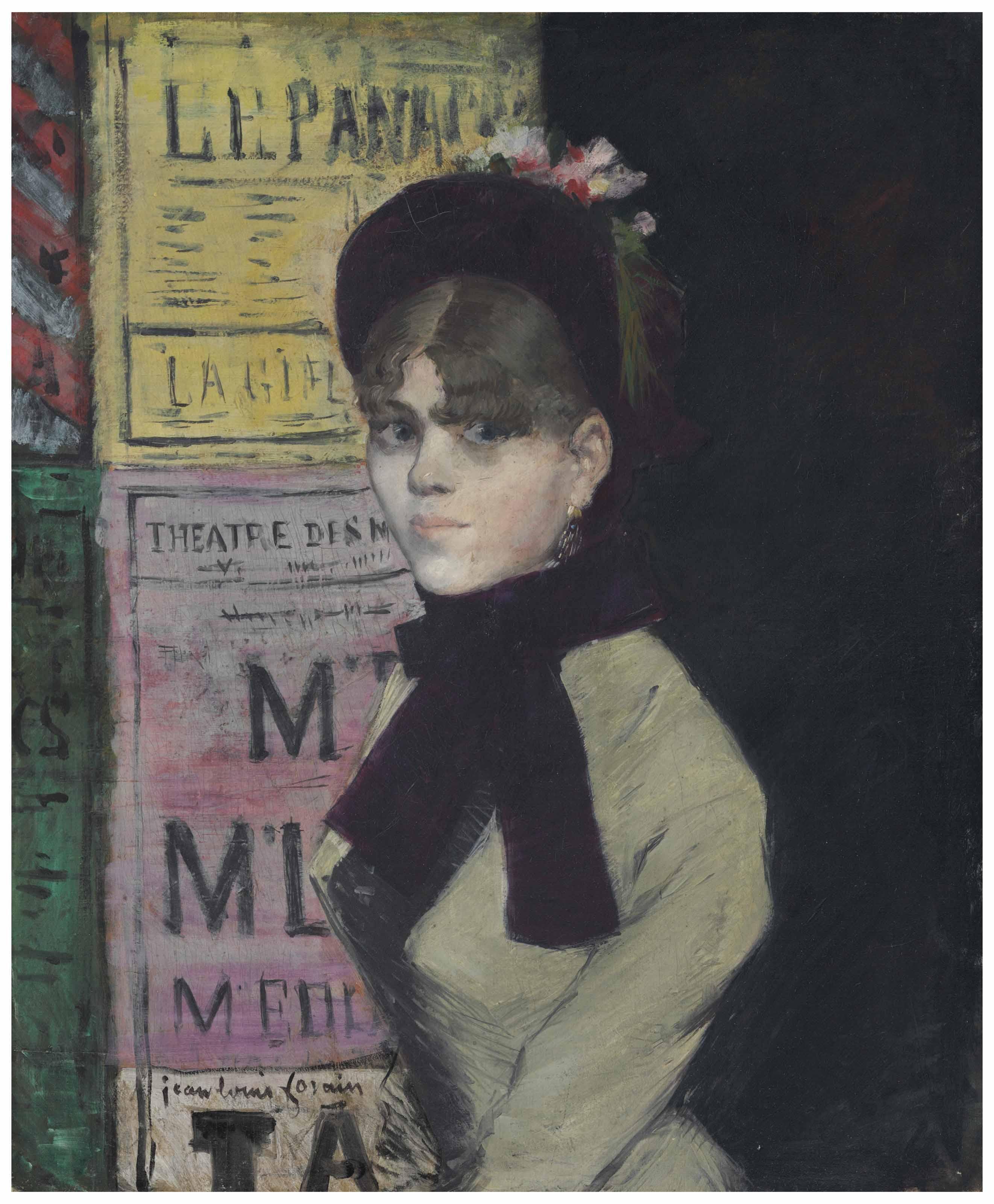La femme aux affiches